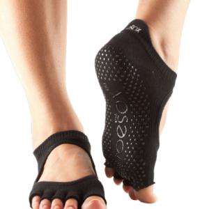 yoga sokken antislip in zwart verkrijgbaar bij yoga-pilatesshop.nl