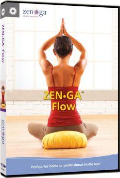 Yoga voor beginners thuis video op dvd Stott DVD-ZENGA FLOW