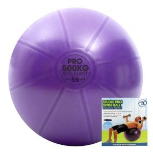 yoga zitbal 55 cm met pomp is direct online te koop bij yoga-pilatesshop