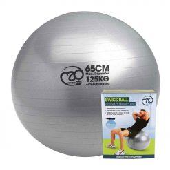 zitbal 125 kg met pomp kopen voor pilates oefeningen, voor thuis of op kantoor
