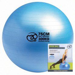 zitbal 75 cm met pomp en dvd kopen bij yoga-pilatesshop